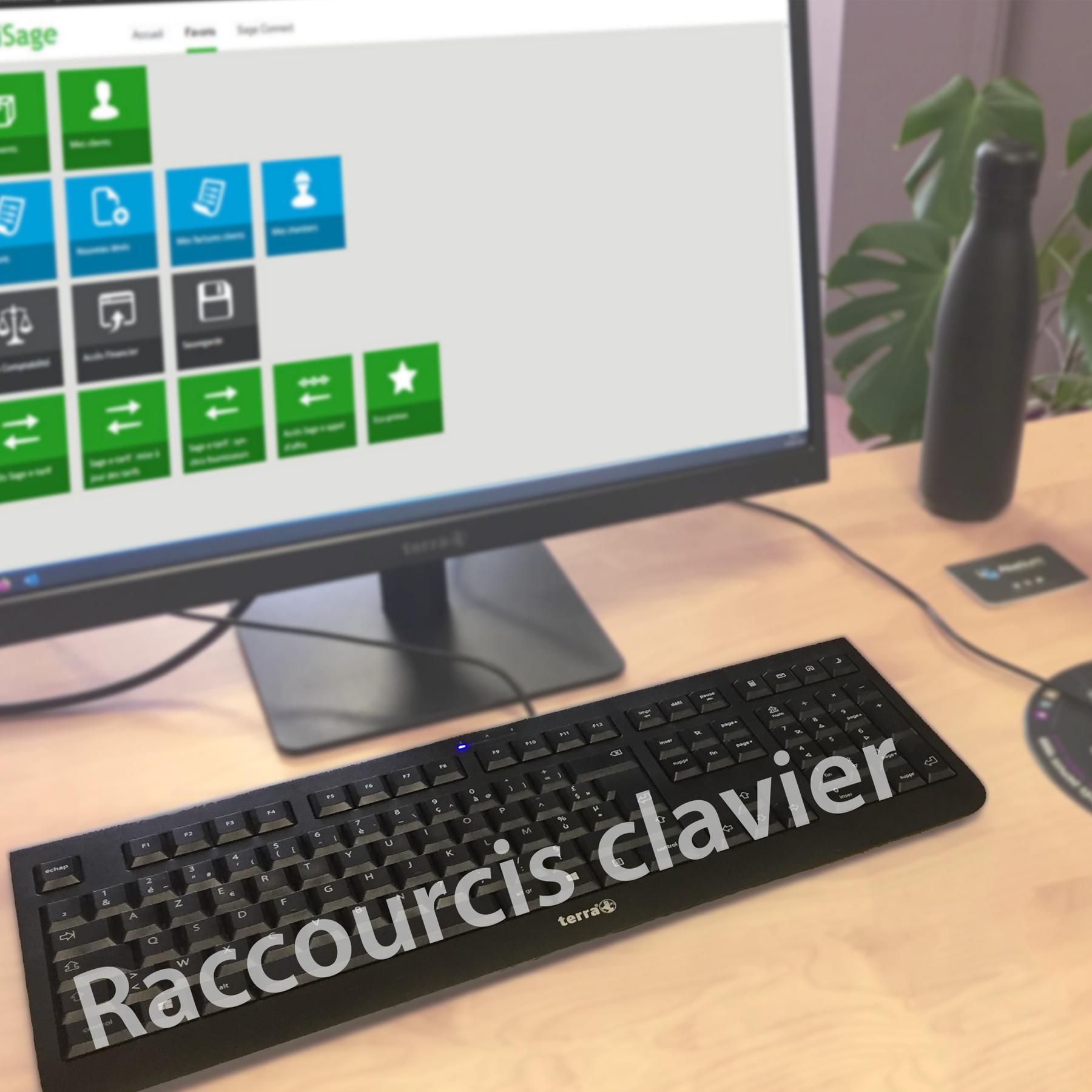 Raccourcis Clavier Batigest