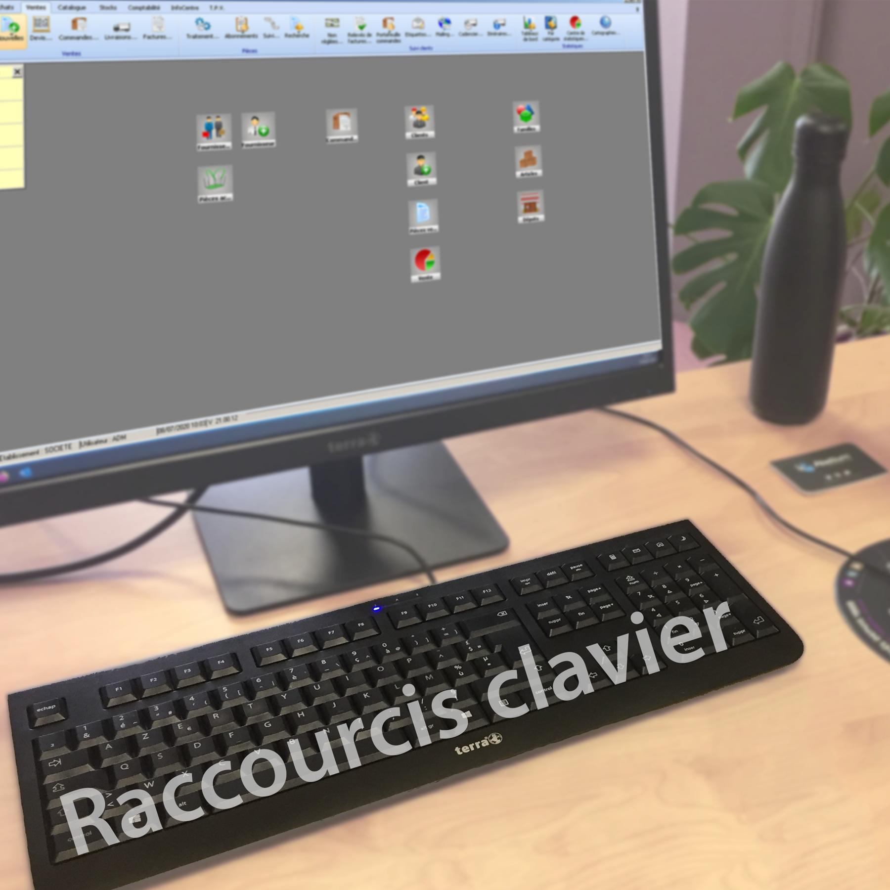 Raccourcis Wavesoft