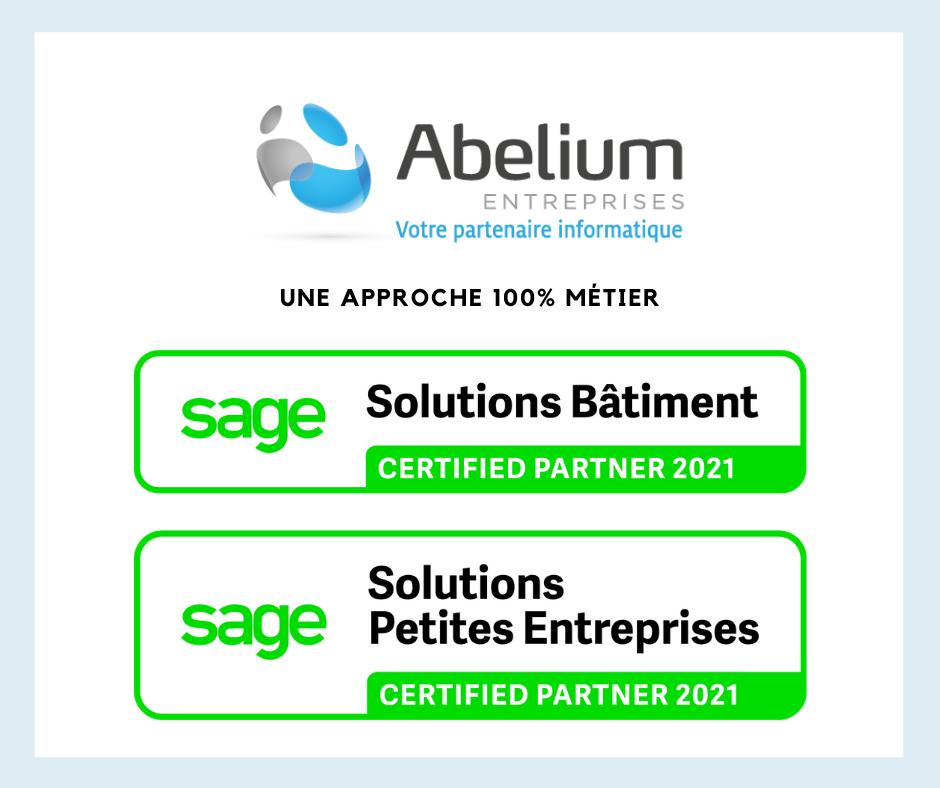 Abelium partenaire certifié SAGE